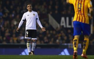 Alcacer's heart was at Barca - Valencia president