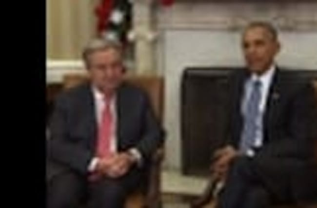 Obama Welcomes Next UN Chief to the White House