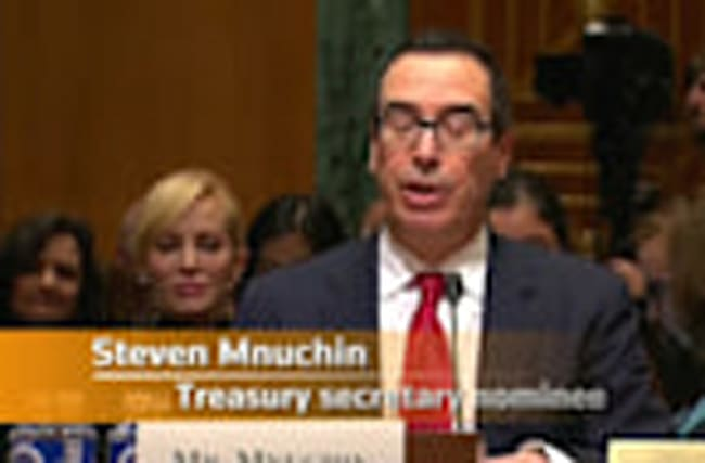 Trump's Treasury pick faces senators