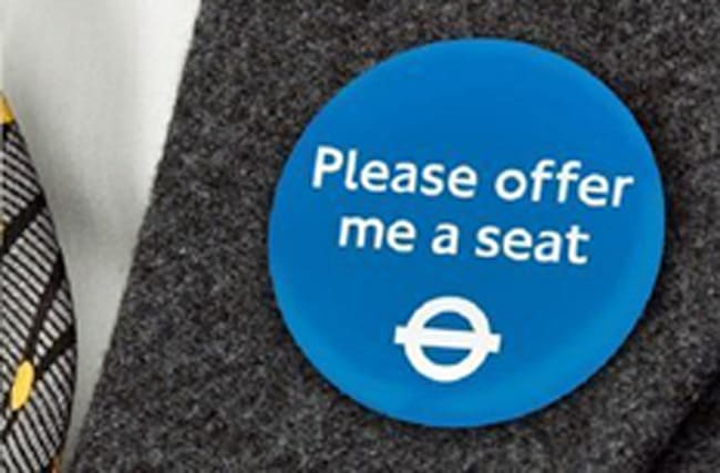 TFL tests badges for disabled passengers on the Tube