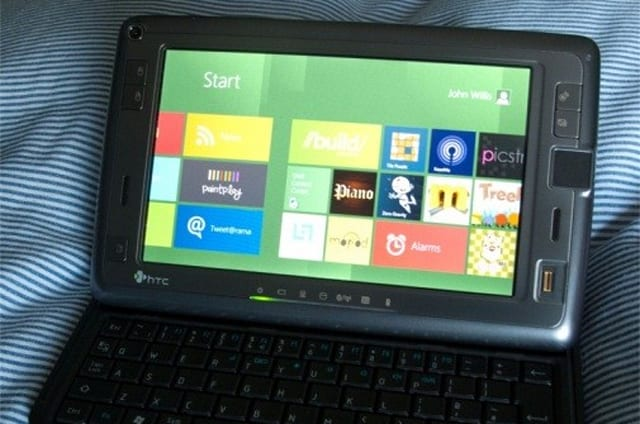 Instalando Windows 8 en el HTC Shift