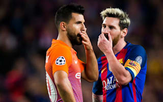 Aguero one of the world's best, insists Messi