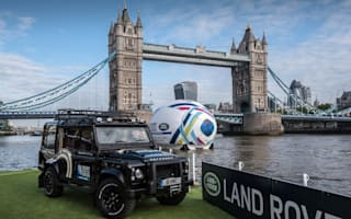 Land Rover unveils bespoke Rugby World Cup Defender