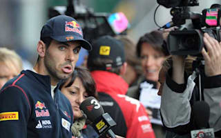 Alguersuari makes British GP point but unhappy with Toro Rosso pace