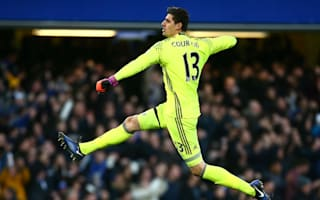 Courtois hailed by Conte as Madrid rumours swirl