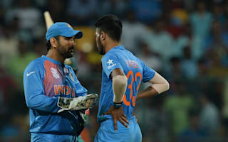 Dhoni hopes youngsters learn from Bangladesh 'chaos'