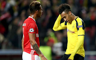 Benfica 1 Borussia Dortmund 0: Aubameyang misses penalty in Lisbon nightmare