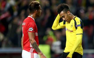 Benfica 1 Borussia Dortmund 0: Aubameyang misses penalty in Lisbon nightmare