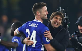 Conte praises Cahill mental strength and wishes Mason well