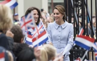 Kate Middleton surprises passengers on BA flight