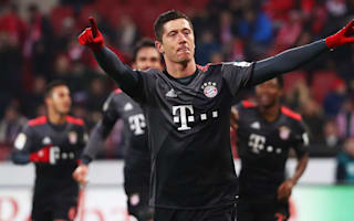 Mainz 1 Bayern Munich 3: Lewandowski double inspires champions