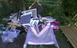 Woman who paid man to take rubbish away is fined for fly-tipping