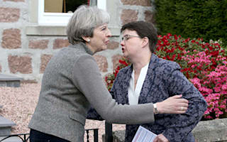 Theresa May 'more in touch' than Nicola Sturgeon, says Ruth Davidson