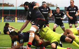 Saracens win to stay top, Quins see off Worcester