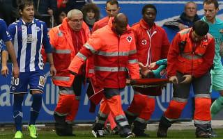 Vidal to spend night in hospital
