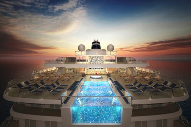 Incredible cruise ship pools