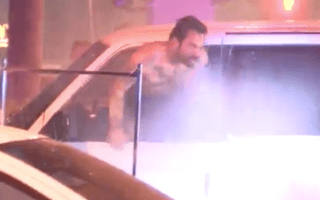 Shocking footage shows man being flushed out of car before being shot dead