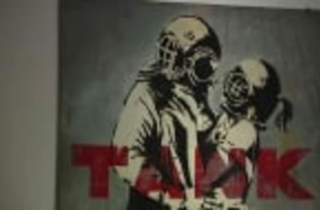 Banksy art exhibit opens in Rome