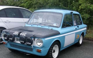 Monte Carlo Hillman Imp rally car up for auction