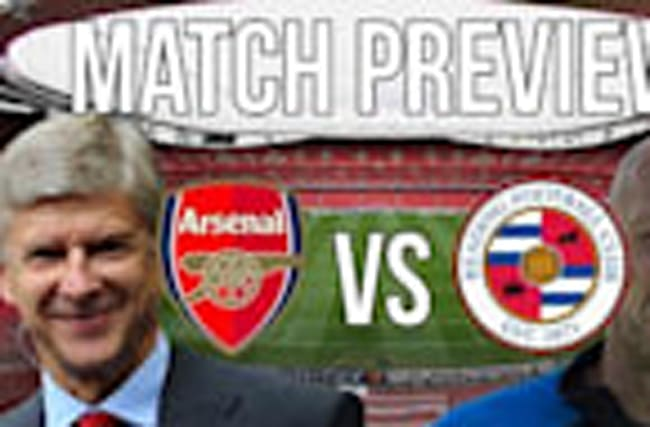 Arsenal vs Reading - League Cup Round of 16 match preview