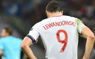 Poland boss praises Lewandowski after Euro 2016 exit