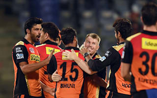 Sunrisers beat RCB to claim first IPL title