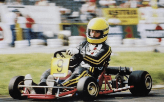 Kart raced by Ayrton Senna up for sale