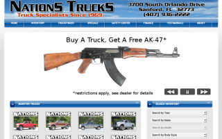 Free AK-47 with every truck sold