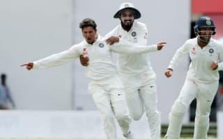 Kuldeep shines as India respond to Kohli absence, Smith hundred