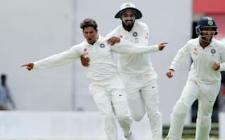 Kuldeep shines as India respond to Kohli absence, Smith hundred