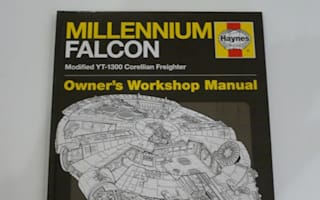 Millennium Falcon manual is a festive treat