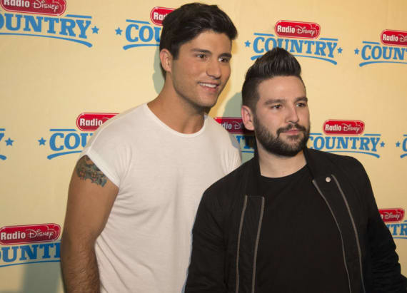 Dan + Shay 'Up' to No. 1 on country airplay