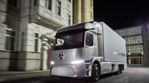 El impresionante camión eléctrico Urban eTruck de Mercedes se pondrá en circulación este 2017
