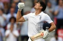 Cook hails England's calmer display
