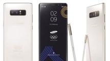Samsung lanza un Galaxy Note 8 especial Olimpiadas de Invierno