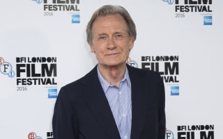 Actor Bill Nighy receives award for services to radio drama at BBC ceremony