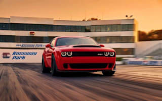 Dodge announces world's fastest-accelerating production car
