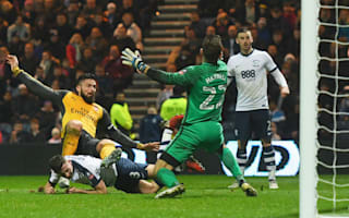 Preston North End 1 Arsenal 2: Another Giroud late show seals fourth-round place