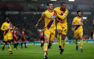 Bournemouth 0 Crystal Palace 2: Dann and Benteke strike end Allardyce's winless streak