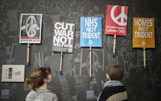 Hate-filled cartoons and letters to conscientious objectors go on display