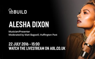 Watch live as Alesha Dixon joins us in the AOL Build Studio