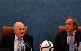 Selfish Blatter wanted to make me his last scalp - Platini