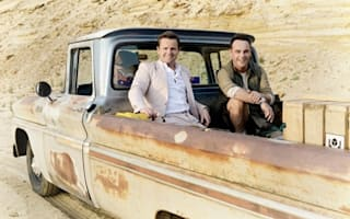 Ant and Dec hitch a lift into the Australian Outback - with  a crocodile