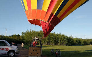 How this couple's hot air balloon proposal went terribly wrong