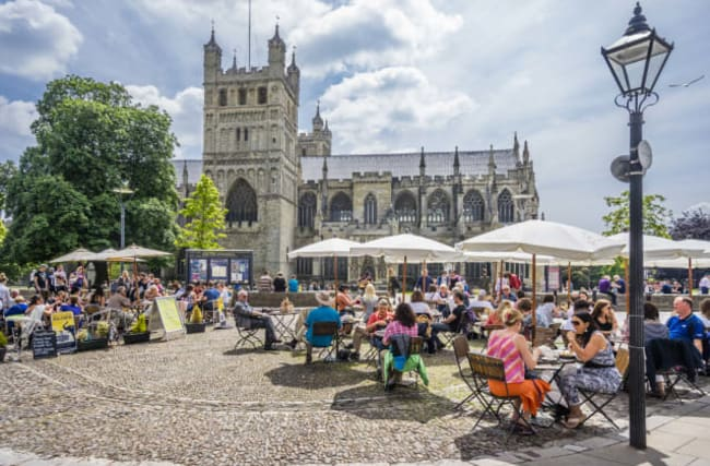 Win a weekend in Exeter!