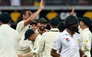 Pakistan wickets tumble as Australia seize control