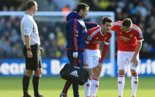 Jones, Herrera injuries a 'big problem' for Van Gaal