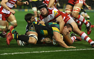 Saints see off battling Gloucester