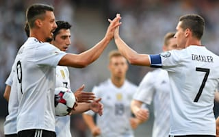 Germany 7 San Marino 0: Wagner hits hat-trick for world champions