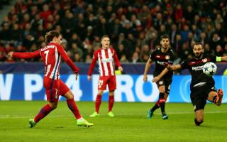 Bayer Leverkusen 2 Atletico Madrid 4: Simeone's side in control